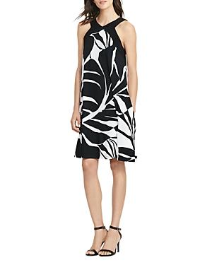 Lauren Ralph Lauren Petites Tropical-Print Dress
