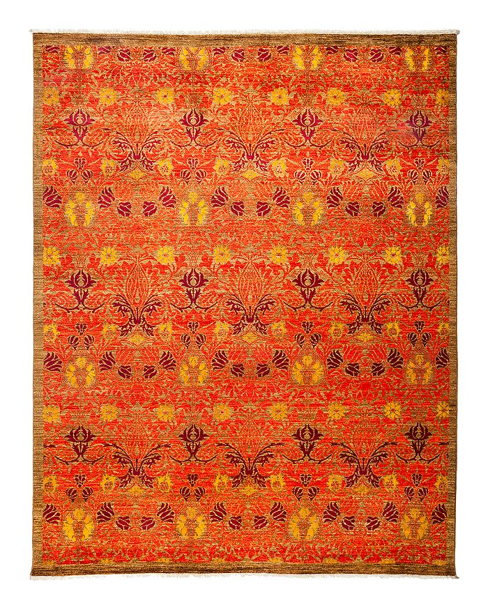 """Solo Rugs - Arts and Crafts Area Rug, 7'10"""" x 10'1"""""""