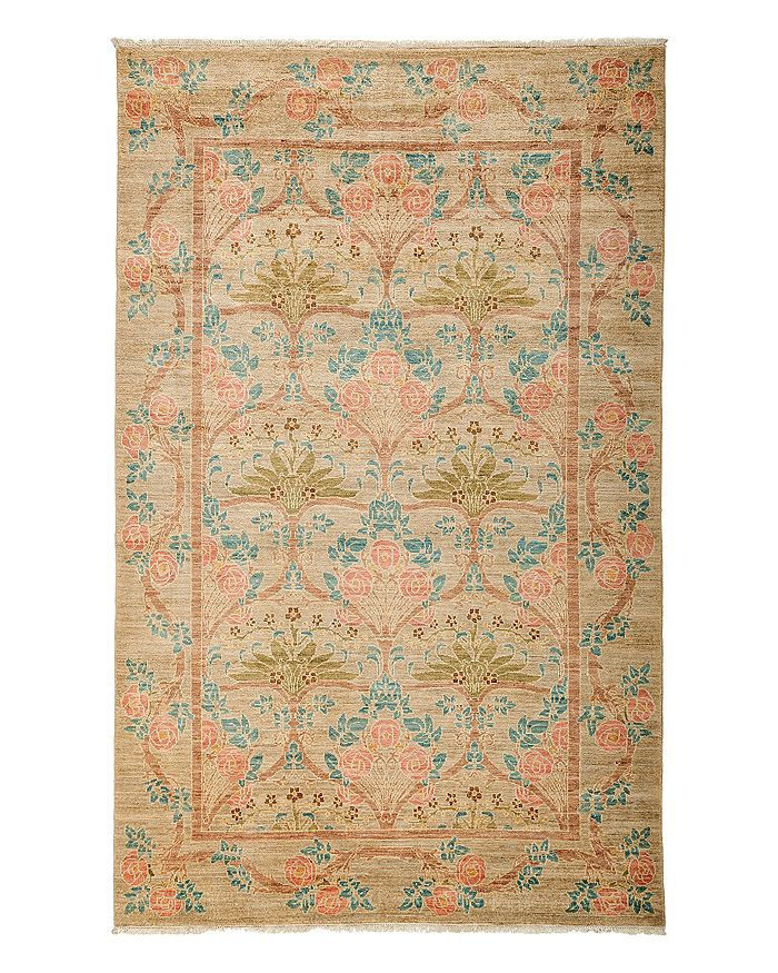 """Solo Rugs - Arts and Crafts Area Rug, 5'1"""" x 8'"""