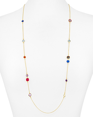 Argento Vivo Rainbow Station Necklace, 32