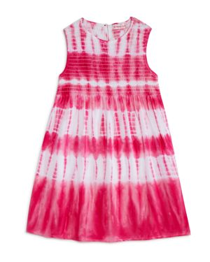 Design History Girls' Sleeveless Tie Dye Dress - Little Kid