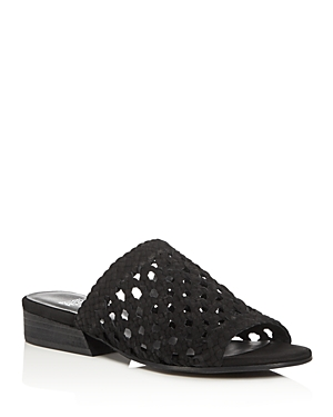 Eileen Fisher Aloe Open Weave Slide Sandals
