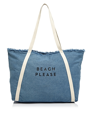 Milly Beach Please Canvas Tote