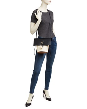 ZAC Zac Posen - Belay Color Block Leather Crossbody