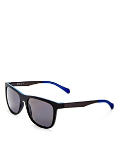 HUGO - Men's Polarized Square Sunglasses, 54mm