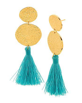Gorjana - Phoenix Tassel Drop Earrings