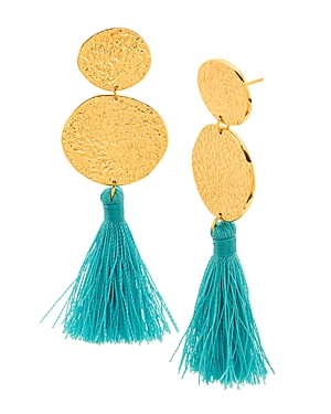 Gorjana Phoenix Tassel Drop Earrings