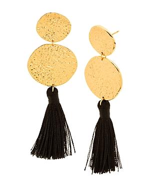 Gorjana Phoenix Tassel Drop Earrings