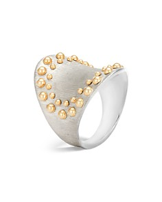 John Hardy 18K Yellow Gold and Sterling Silver Dot Saddle Ring - Bloomingdale's_0