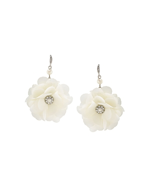 Carolee Flower Drop Earrings