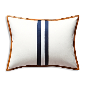 Ralph Lauren Lafayette Leather Decorative Pillow, 22 x 22
