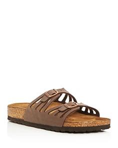 Birkenstock - Women's Granada Cutout Slide Sandals