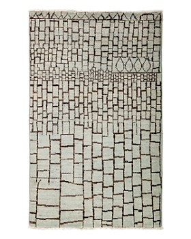 "Solo Rugs - Moroccan Area Rug, 3'10"" x 6'3"""