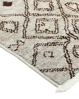 "Solo Rugs - Moroccan Area Rug, 4'10"" x 7'7"""