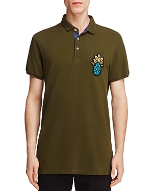Scotch & Soda Pineapple Slim Fit Polo