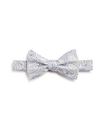 The Men's Store at Bloomingdale's - Metallic Paisley Bow Tie - 100% Exclusive