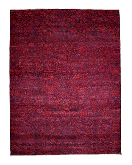 Solo Rugs - Suzani Collection Oriental Rug, 9' x 11'9""