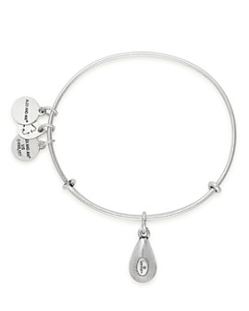 Alex and Ani - Swarovski Crystal Birthstone Expandable Wire Bangle