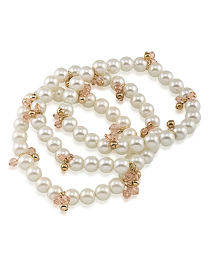 Lauren Ralph Lauren Beaded Stretch Bracelets, Set of 3