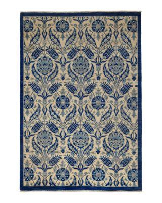 "Suzani Collection Oriental Rug, 5'3"" x 5'4"""