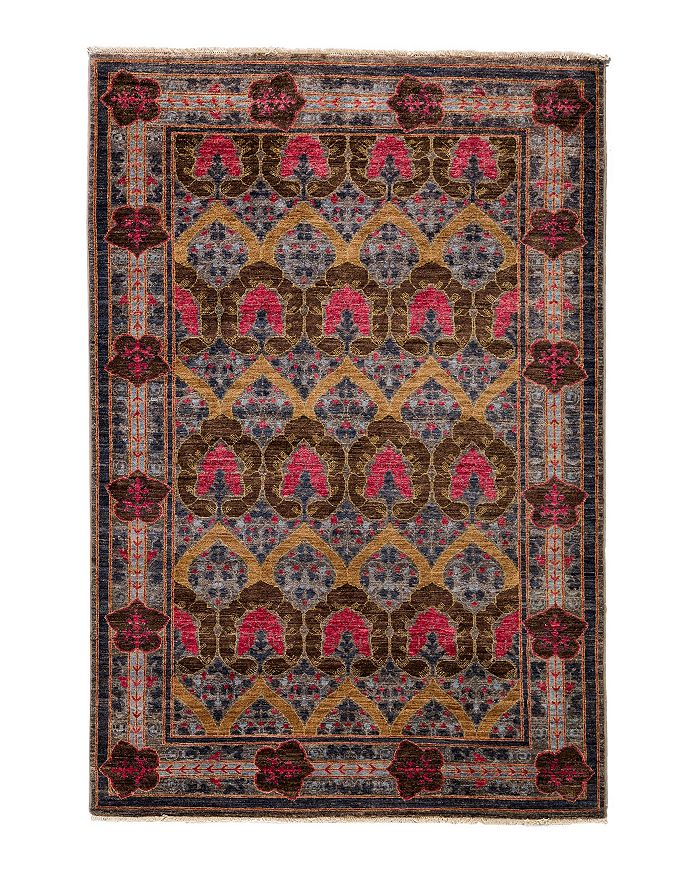 """Solo Rugs - Morris Collection Oriental Rug, 5'1"""" x 7'10"""""""