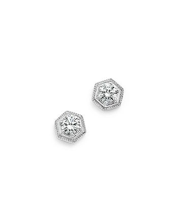 Bloomingdale's - Diamond Stud Earrings in 14K White Gold, .50 ct. t.w. - 100% Exclusive