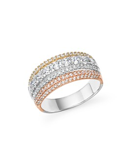 Bloomingdale's - Diamond Multi Row Ring in 14K Gold, 1.40 ct. t.w. - 100% Exclusive