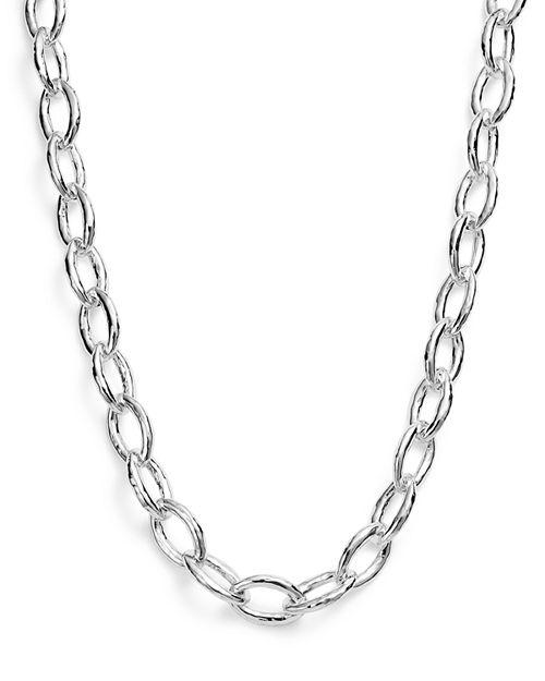 "IPPOLITA - Sterling Silver Glamazon® Bastille Link Chain Necklace, 18"""