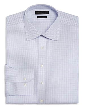 The Men's Store at Bloomingdale's Multi Grid Regular Fit Dress Shirt - 100% Exclusive