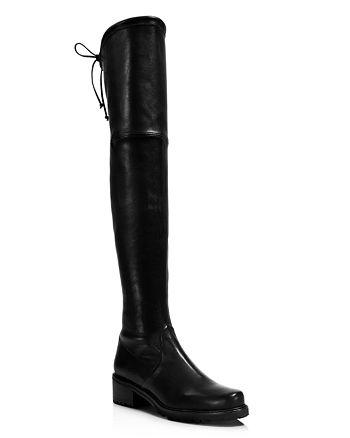 bc97bc01ede Stuart Weitzman Women s Vanland Leather Over-the-Knee Boots ...