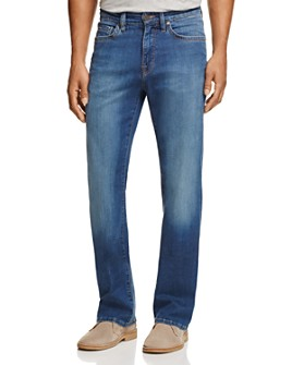 34 Heritage - Charisma Comfort-Rise Classic Straight Fit Jeans in Mid Cashmere