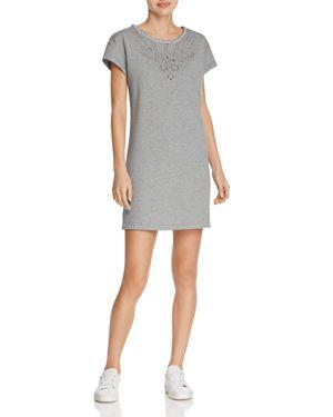 rag & bone/Jean Embroidered Eyelet Tee Dress