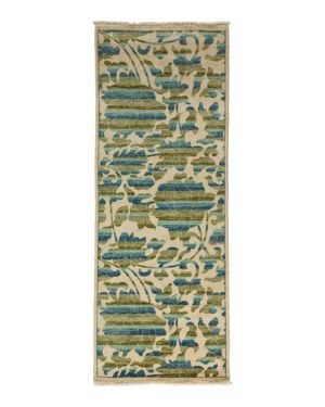 Morris Collection Oriental Rug, 3'1 x 8'1