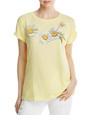 Wildfox Daisy Graphic Tee