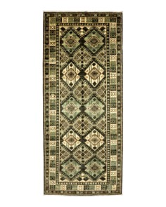 """Bloomingdale's - Tribal Collection Oriental Area Rug, 4'1"""" x 9'7"""""""