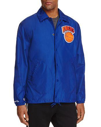 bda077d1077 MITCHELL   NESS New York Knicks NBA Coach Jacket - 100% Exclusive ...