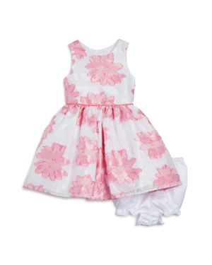 Pippa & Julie Girls' Floral Dress & Bloomers Set - Baby