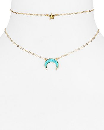 BAUBLEBAR - Skye Layered Necklace, 14""