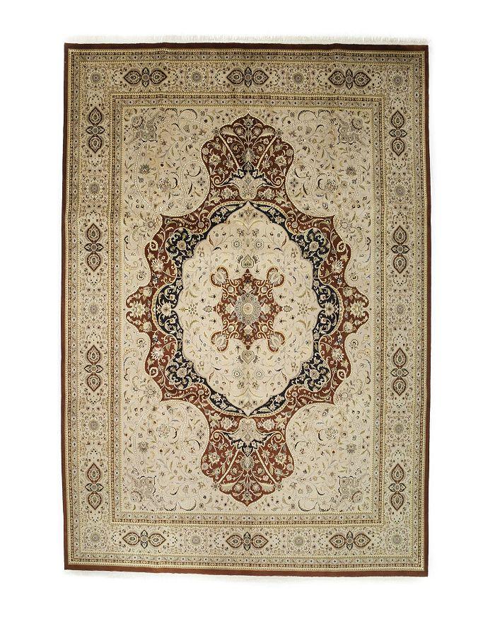 "Bloomingdale's - Tabriz Collection Oriental Rug, 10' x 14'5"""