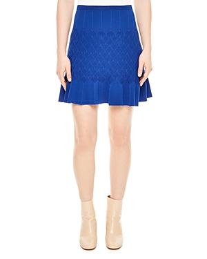 Sandro Gregoria Knit Mini Skirt