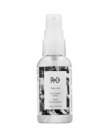R and Co - Dallas Thickening Spray, Travel Size