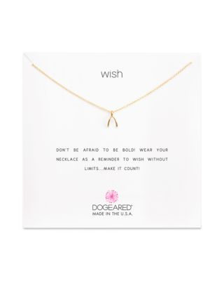 $Dogeared Wish Necklace, 16