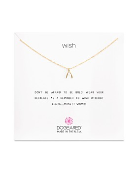 """Dogeared - Wish Necklace, 16"""""""