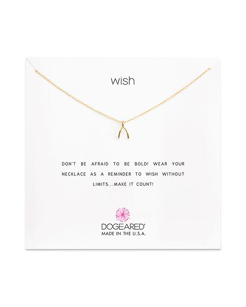 Dogeared - Wish Necklace, 16""