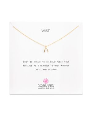 Dogeared Wish Necklace, 16