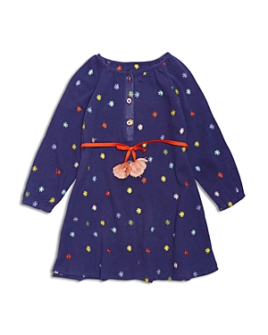Margherita Kids Girls Daisy Print Dress  Little Kid