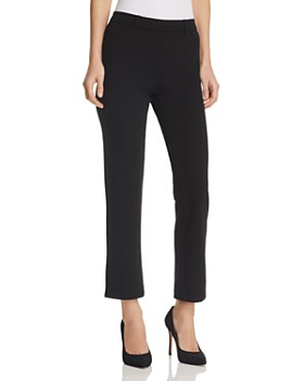HUE - Cropped Trouser Leggings