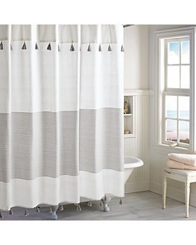 Peri Home - Panama Stripe Shower Curtain