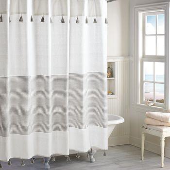 Peri Home - Panama Stripe Shower Curtain