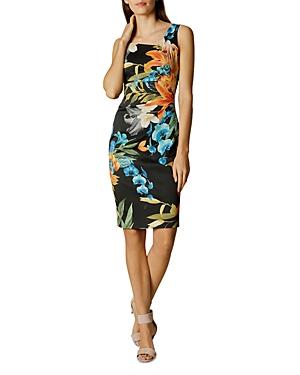 Karen Millen Tropical Print Dress